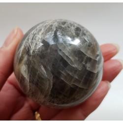 Zwarte Maansteen bol